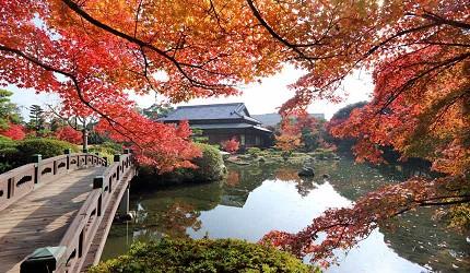 山口县必访景点推荐长府庭园和服体验