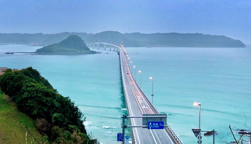 山口县必访景点推荐角岛大桥死前必去景点